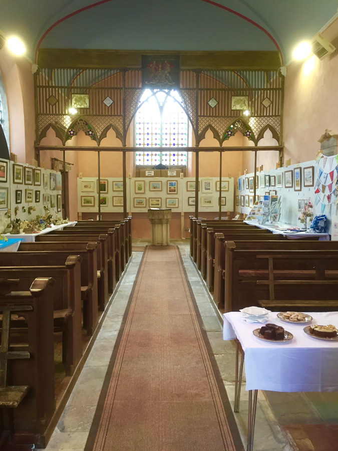 Exhibition in Thorpe Market church - Copy