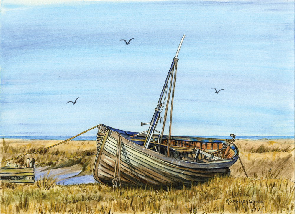 Rosalie Osborne Gibb 'The Old lady at Thornham' - Copy