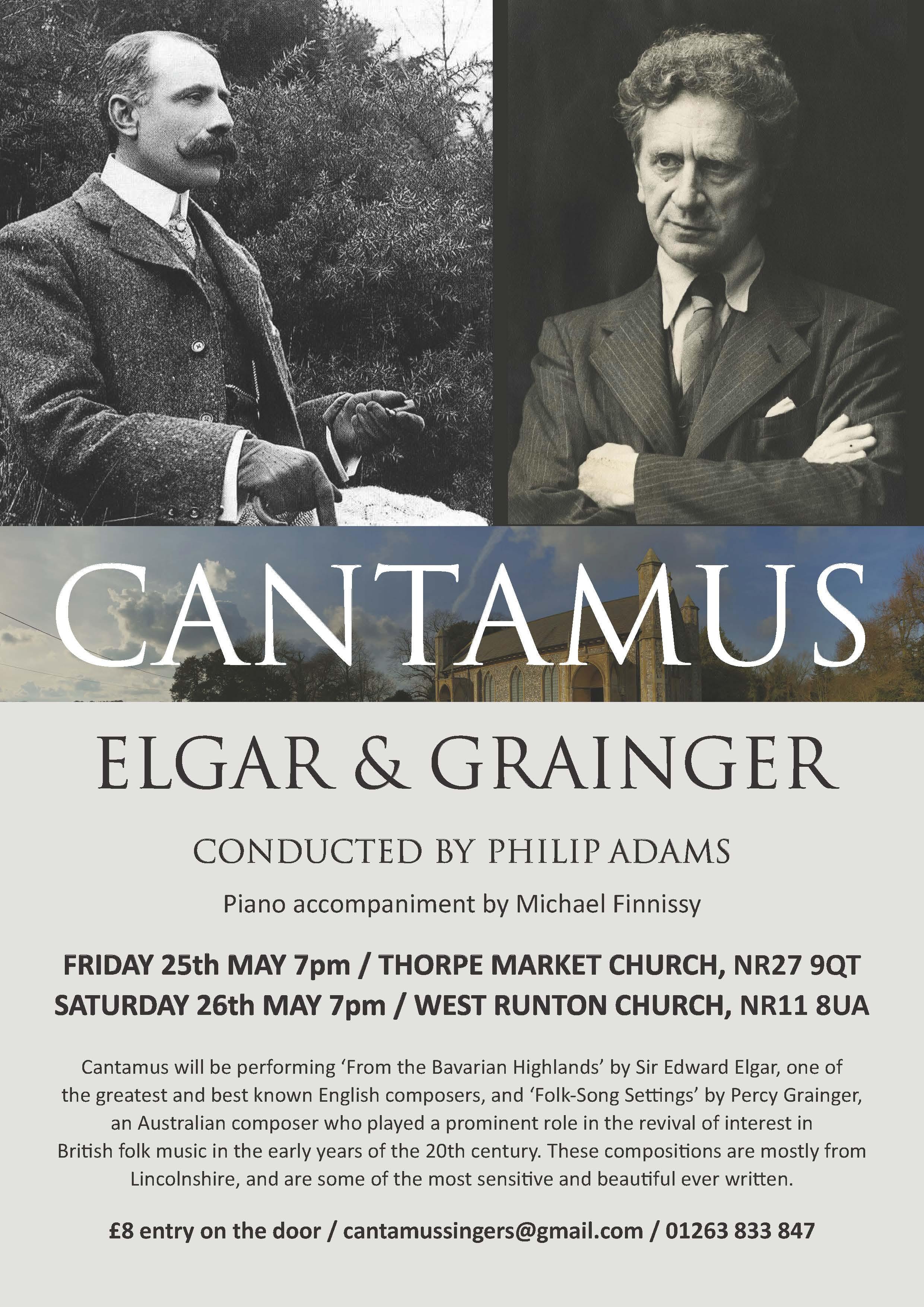 Cantamus May Concert 2018 email